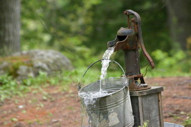 fresh water well
